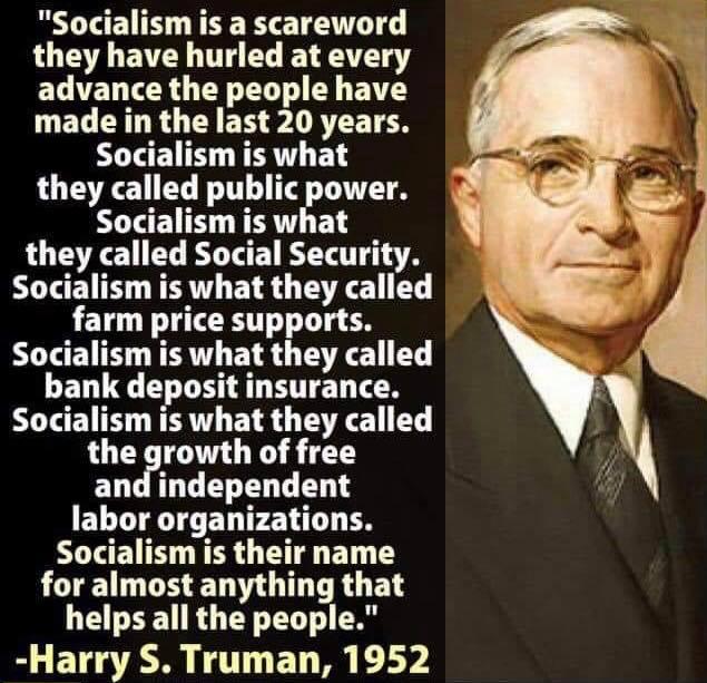socialism truman