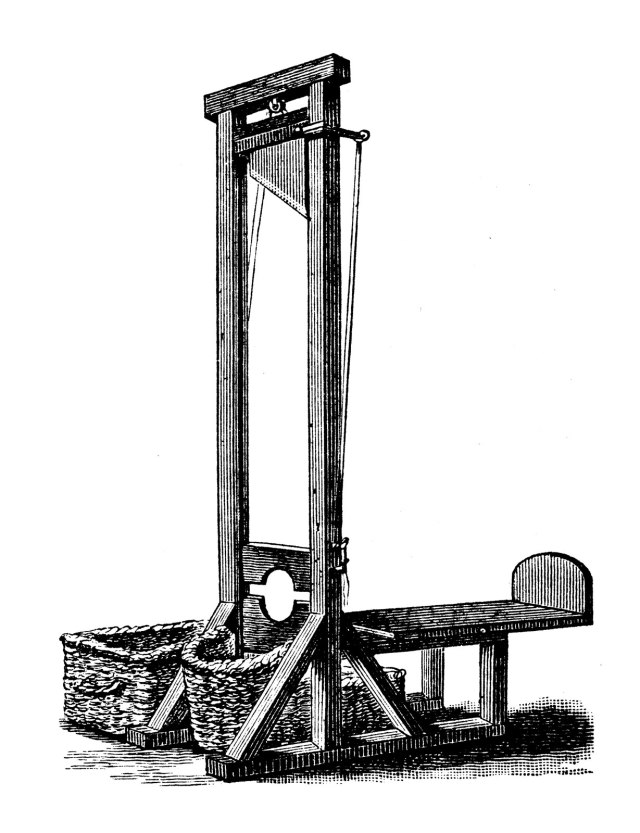 guillotine-French-Revolution